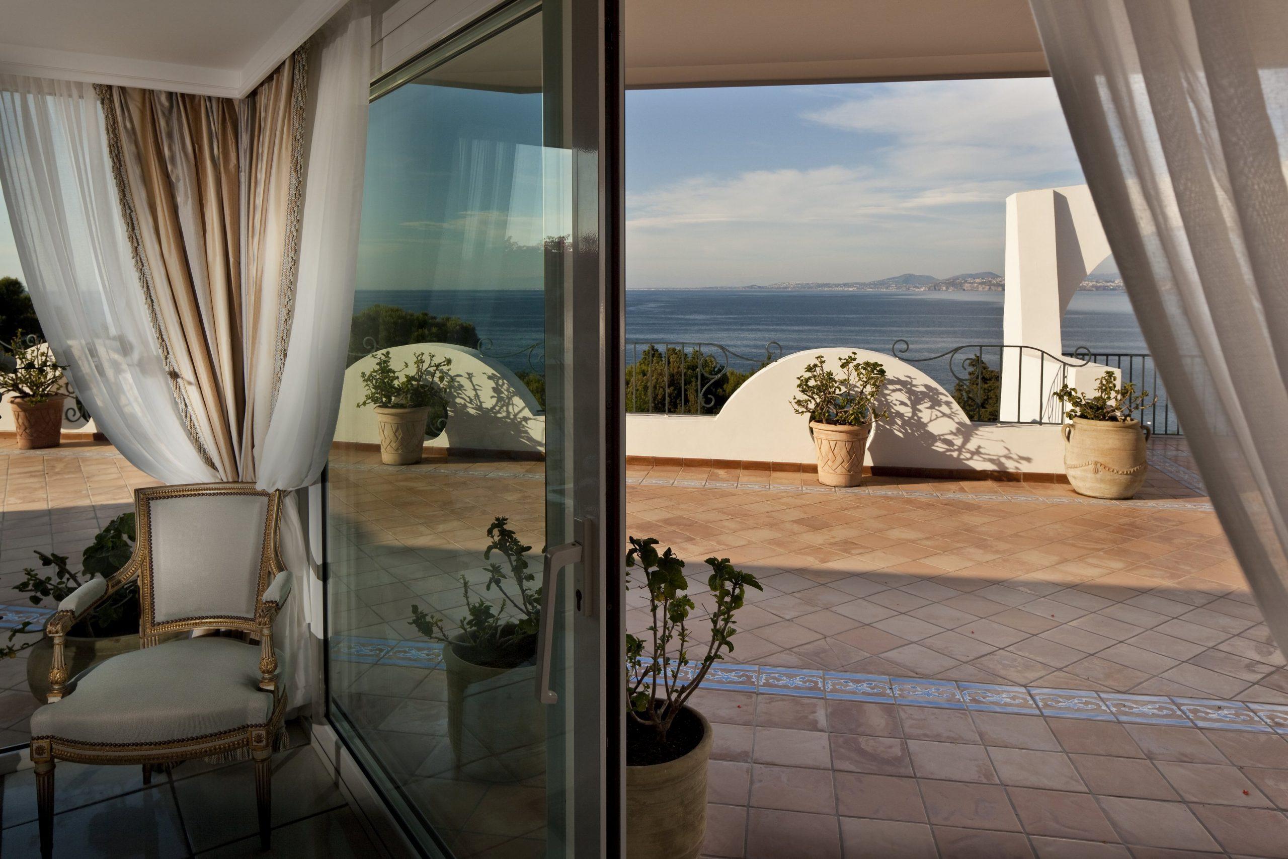 Vista terrazza Grand Suite