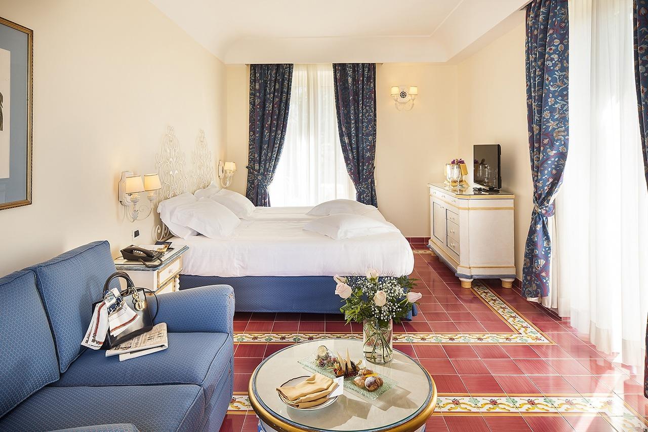 Camera da letto hotel 5 stelle Excelsior