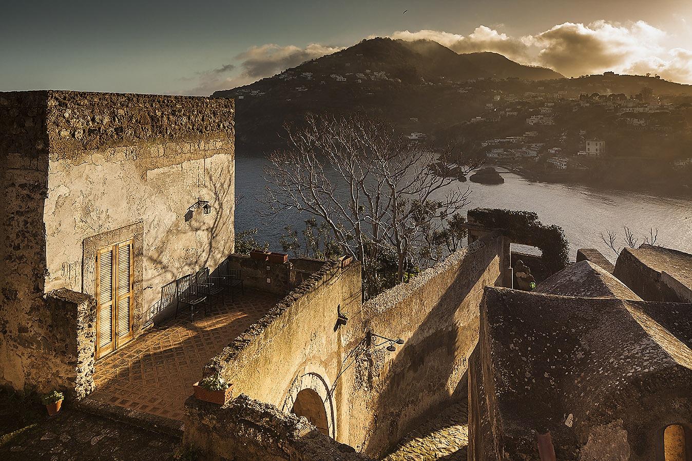 Vista dal Castello Aragonese