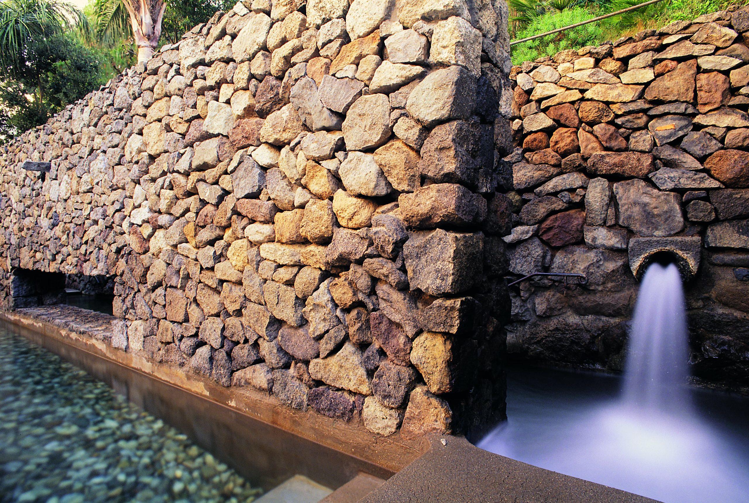 Piscina labirinto Parco termale del Negombo